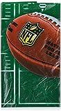 Amscan International 571214 Tischdecke, NFL-Motiv, Kunststoff,137cm x 243 cm