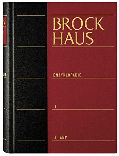 Brockhaus Enzyklopädie in 30 Bänden