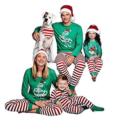 Faith Wings Set Di Pigiama Famiglia Di Natale - Papà Mamma Bambini Bambino Sleepwear Baby