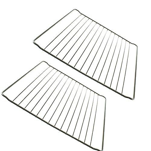 2x Universal Herd Ofen Regalen Draht Regal Rack Grillrosten Ersatz Ofen Tabletts - Ersatz-ofen-racks