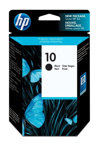 HP C4844AE Tintenpatrone Nr. 10 schwarz (2.200 Seiten) (Hp 7 Plus)