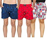 #7: Yo Republic Mens Cotton Boxer Shorts Combo offer (Pack of 3)