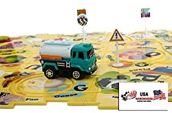 Puzzle Pilot Interchangable Jigsaw Puzzle Track Play Set Various Themes Battery-Operated Toy Vehicle