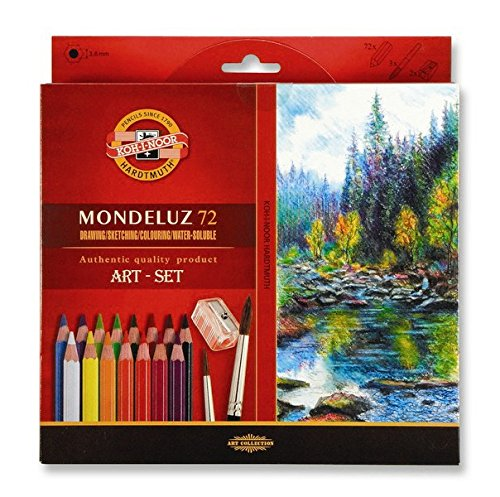 Koh-I-NOOR 3714072001KZ Aquarelle Farbige Bleistift (72Stück)