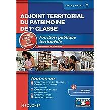 Adjoint territorial du patrimoine de 1re classe (Concours Fonction Publique)