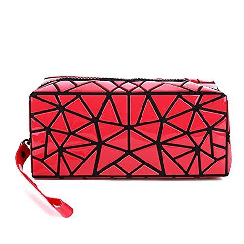 HappyU modische Kosmetiktasche klein für Damen | Make Up Organizer für Handtasche und Reisen | faltbare Kulturbeutel für Frauen -