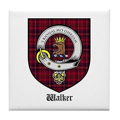 CafePress–Walker Clan Crest Tartan–Tile Untersetzer, Drink Untersetzer, Untersetzer, Klein