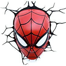 Philips 71786/40/16 - Máscara de luz LED en 3D, diseño de Spiderman