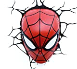 e-concept Distribution France - PDG00000061 - Marvel - 3D Deco Light - Masque Spider-Man - Rouge