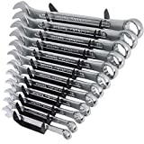 #10: OKASTA High Quality 12 Pcs. Double Sided Open End OK12P High Quality 12 Pcs. Double Sided OK12PCS Open End Double Sided Rachet Wrench Set (Pack of 12)