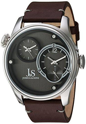 Joshua & Sons Reloj con Movimiento Cuarzo japonés Man 46 mm