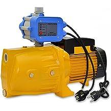 Bomba de Agua de Superficie 1500W con Presostato 95L/Min de Flujo