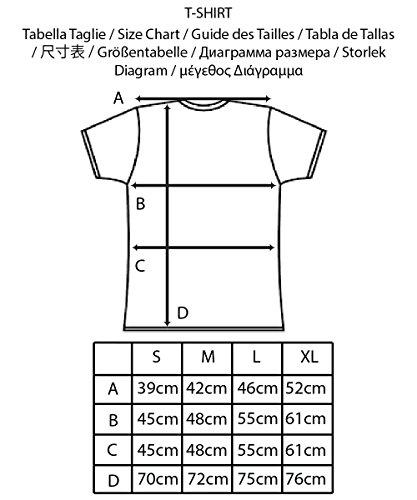 Iacobuccyounes Herren T-Shirt Blau