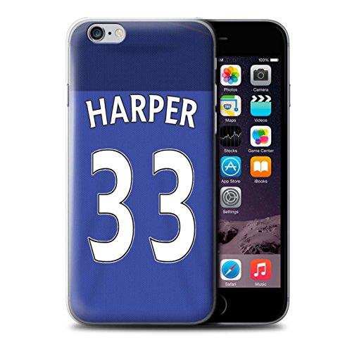 Offiziell Sunderland AFC Hülle / Case für Apple iPhone 6S / Pack 24pcs Muster / SAFC Trikot Home 15/16 Kollektion Harper