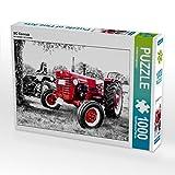 CALVENDO Puzzle Oldtimer Traktor MC Cormick 1000 Teile Lege-Größe 64 x 48 cm Foto-Puzzle Bild von Andrea Dreegmeyer (CALVENDO Kunst)