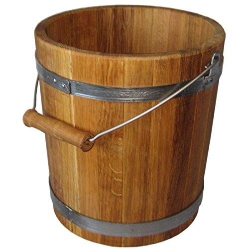 Eimer für die Sauna, 10L (Eiche)