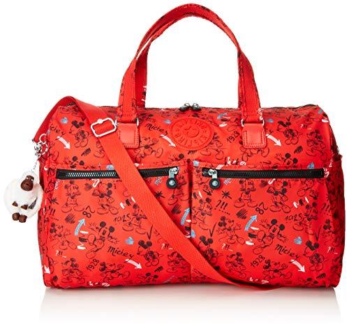 Kipling D Itska Strandtasche, 52 cm, 38 L, Sketch Red Preisvergleich
