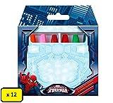 Box 12 conf. Pastelli a Cera Disney, Marvel, Nickelodeon (Spiderman)
