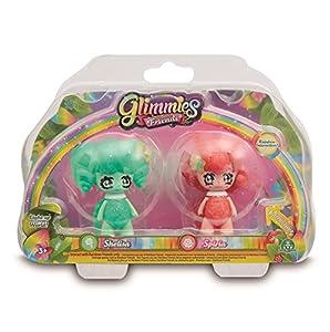 Glimmies - Serie 2 Blister 2 Figuras Shelisa + Spiria (Giochi Preziosi GLN01000)