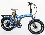 GIAMA Bici ELETTRICA Fat Bike 20 FANATIK PEDALATA ASSISTITA BAFANG 750W 48V