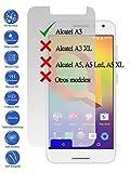 Protecteur d'écran en verre trempé verre 9H Premium pour ALCATEL A34G 5.0