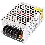 sourcingmap® CA 110V 220V para CC 5V 3A 15W Conmutación Alimentación Fuente Controlador S-15-5 para LED Tira