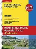 Falk Straßenatlas Deutschland, Österreich, Schweiz, Europa 2017/2018 1 : 300 000 (Falk Atlanten)