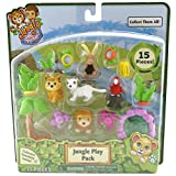 Jungle In My Pocket Jungle Play Pack 15 Pieces - C