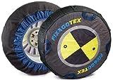 FIX&GOTEX - 8ZFG - Cadenas de nieve, cadena textil para coche TALLA G
