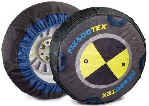 Fit & Go Sox FIX&GOTEX - 8ZFI - Snow Chains, Textile Car Chain, Size: I