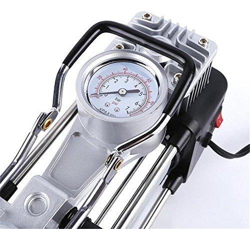 Preisvergleich Produktbild KRISMILEN Multifunktions-Haushalt 100PSI 240V AC elektrische Luft Pumpe/Air Kompressor für Pkw-Reifen und Schwerlast-Reifen-aufpumper auf den Ball