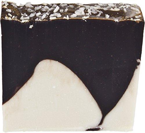 Greendoor handgesiedete Naturseife Cocos mit echter Schokolade, Seife vegan 100 g aus der Naturkosmetik Manufaktur, Handseife