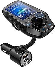 Guanda bluetooth FM-zender voor de auto, een bluetooth auto-adapter, 4-in-1 auto MP3-speler met 1.8 inch breed