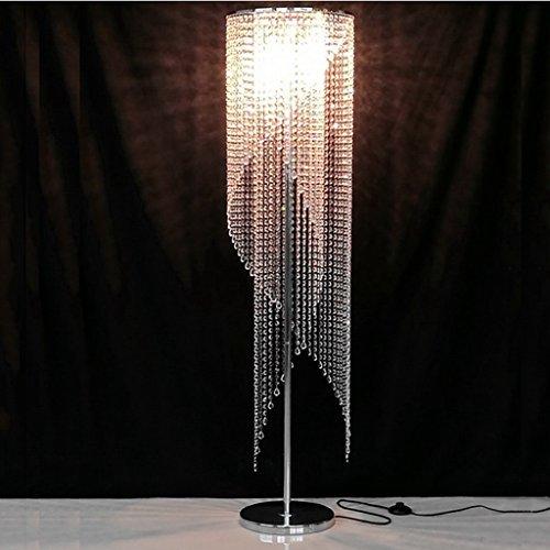 Frelt Stehlampe Europäische Wohnzimmer Moderne Luxus Led Schlafzimmer Persönlichkeit K9 Crystal Stehleuchte -