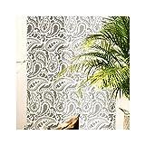 TAJ MAHAL Paisley Wand Möbel Fußboden Schablone für Malerei - Möbel Klein