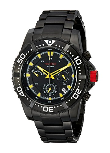 Red Line rl-50030vk-bb-01yl – Watch Men – Quartz – Chronograph – Stainless Steel Bracelet Black