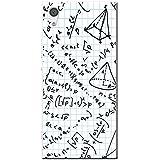 Brainiac l'Intelligence Geek Nerd Science Boffin téléphone Housse/Coque rigide pour téléphone portable Sony, Square Paper Formula & Equation, Sony Xperia XA1 Ultra