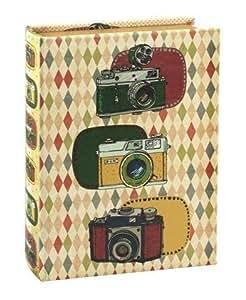 Boîte en forme de livre Appareil photo rétro, 26x 21cm
