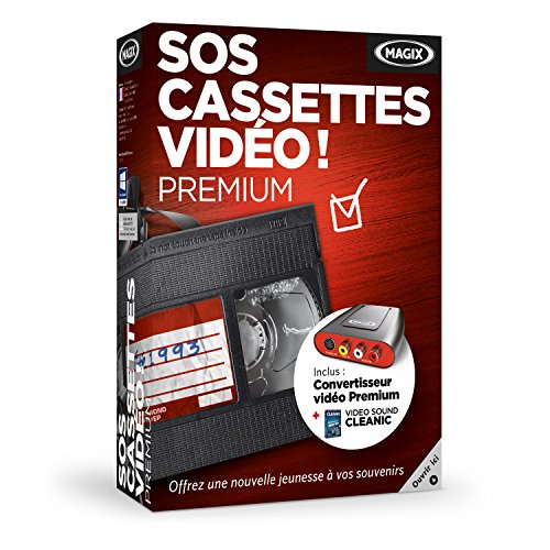 MAGIX SOS Cassettes Vidéo! Premium
