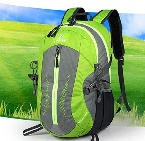 Neue Outdoor-Rucksack wandern Tasche 25L Männer und Frauen lässig Rucksack mittlerer Outdoor-Taschen Green