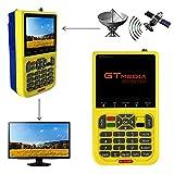 GTMEDIA V8 Satellite Finder DVB-S2 Satellite TV Détecteur Récepteur de TV, HD 1080P...