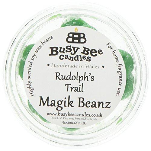Scheda dettagliata Busy Bee Candles Rudolph Magik Beanz s Trail, Colore: Verde, Confezione da 6