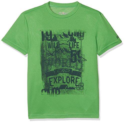 CMP Jungen T-Shirt, Grün (Menta), 140.0