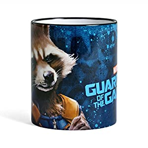 Guardians of the Galaxy Vol. 2 Mug Rocket Raccoon by Elbenwald Ceramic Blue