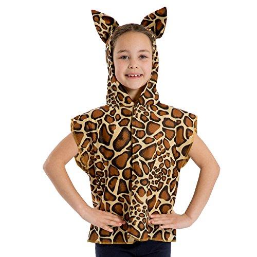 ow Giraffen / Giraffenkalb Kostüm Für Kinder - Einheitsgröße 3-8 Jahre. ()