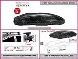 Box Dachbox G3SPARK 520und Kit Leser Pacific Stahl 1,27m
