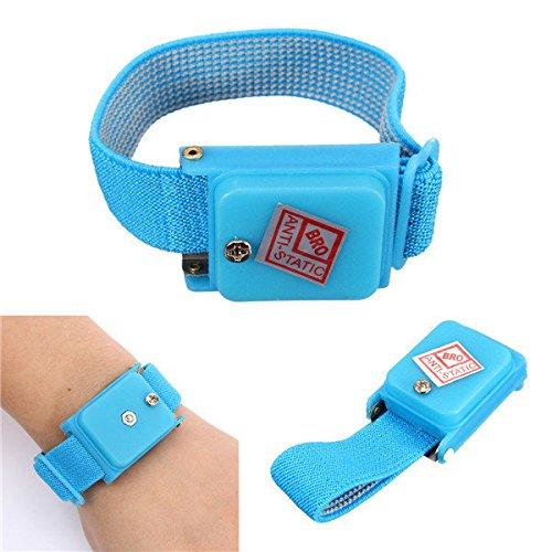 Rosa Eidechse Antistatisches Armband elektrostatischer ESD Entlastung Band Wrist Strap -