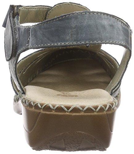 Remonte Dorndorf - D1603, Scarpe col tacco con cinturino a T Donna Blu (royal/royal / 14)