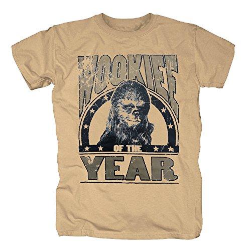 TShirt-People TSP Star Wars - Wookie of The Year T-Shirt Herren Sand