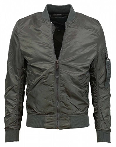 Alpha Industries Herren Jacken/Bomberjacke MA-1 VF LW grau XL